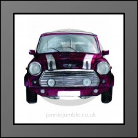 Mini Cooper Framed Print