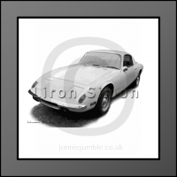 Lotus Elan Framed Print