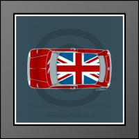 Union Jack Mini Framed Print