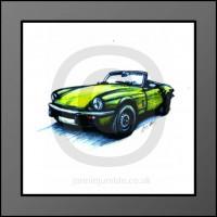 Triumph Spitfire 1500 Framed Print