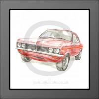 Vauxhall Firenza Framed Print