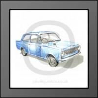 Vauxhall Viva Framed Print